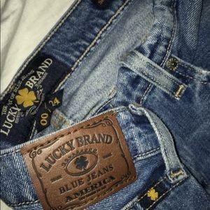 Lucky Brand Women's Boyfriend Jeans size 00 (24)